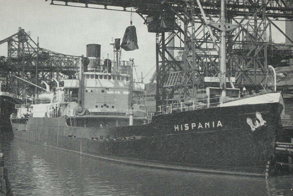 Hispania 1943 ex Empire Beaconsfield